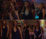 Callie Thorne l Sexy dress l Necessary Rough. S1E6(CollageX1)