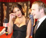 Michelle Keegan - Cleavage - Irish Film and Television Awards - 9th February 2013 - x29HQ & video