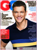 Matt Damon, GQ Magazine, January 2012