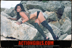 Дениз Милани, фото 3926. Denise Milani ActionGirls.com Grindhouse Vol. 3, foto 3926