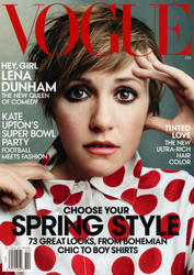 Lena Dunham x7 Vogue (US) February, 2014
