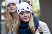 Dakota Fanning Out in Seoul, South Korea 1/5/13