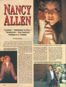 Nancy Allen - Femme Fatales Vol. 6 No. 7 - January 1998 (X8)