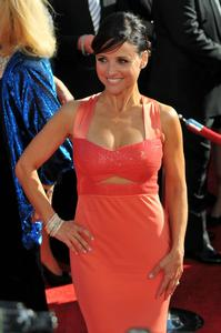"JULIA LOUIS-DREYFUS - ""2008 Emmy Awards Red Carpet"""