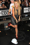 Aubrey O'Day Grand Opening of the Hard Rock Cafe Hollywood 21-10-2010