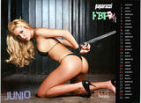 Dallys Ferreira 1 pic from Paparazzi Magazine - 2008 Calendar Foto 34 (Даллис Феррейра 1 ПИК от журнала Paparazzi - Календарь 2008 Фото 34)