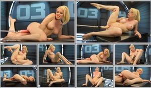FUCKING MACHINES: Jun 01, 2016 - Nikki Delano/Sexy Blonde Babe Gets Machine Fucked for the First Time!!