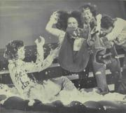 Marie Osmond - Getting thrown into a giant cream pie by her brothers - Nice crotch shot!