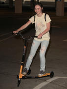 Madeline Carroll Riding a Fliker Scooter in Los Angeles 05/02/12- 15 HQ