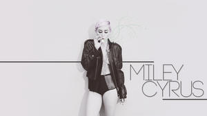 Miley Cyrus - Hot and Cleavy - Smoking Stuff - Maxim Wallpaper - 1x