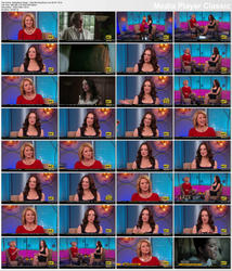 Madeleine Stowe ~ Big Morning Buzz Live 2/7/12 (HDTV 1080i)